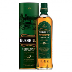 Whisky Bushmills Single Malt 10 Anos