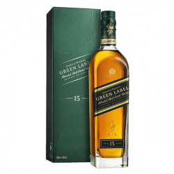 Whisky Johnnie Walker Green Label 15 anos